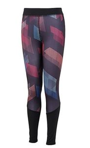adidas Little Girls D2M Printed Tights